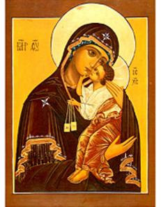 Lay Carmelites Image of Madonna and child