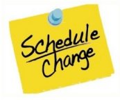 Schedule Change Posit Note
